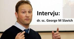 Intervju: dr. sc. George M Slavich